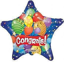 Congrats Festive Balloon